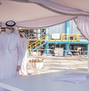 Sharjah ruler visits Al Layyah combined cycle power plant